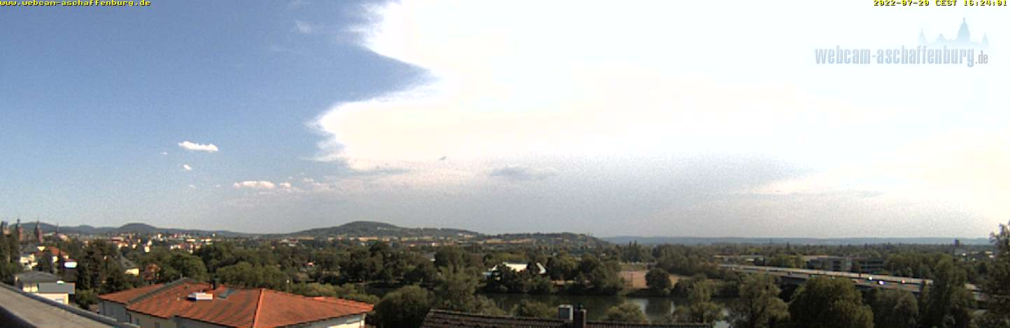 Aschaffenburg – Panoramablick Webcam Live
